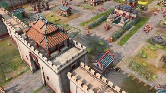 画质暴增+普通话配音!《帝国时代4》公布:中国文明实机演示来了