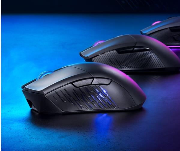ROG战刃3无线游戏鼠开售:支持4档切换 DPI高达26000