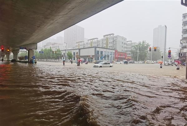 郑州特大暴雨千年一遇!黄河花园口可能发生编号洪水