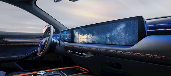 全系2.0T发动机!福特全新中型SUV EVOS下线:车内1.1米巨屏