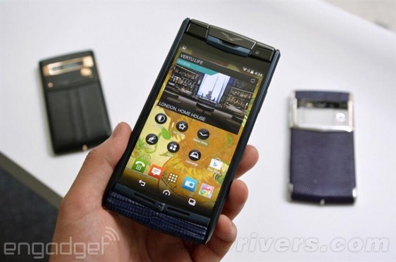 Vertu Signature Touch要价12万超奢华手机体验的照片 - 23