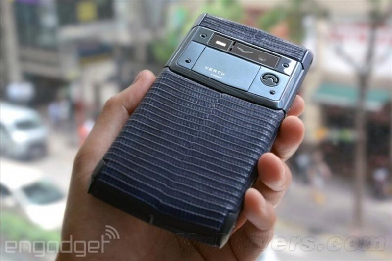 Vertu Signature Touch要价12万超奢华手机体验的照片 - 6