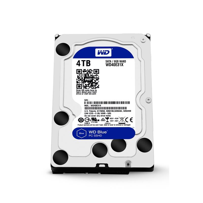 WD西数4TB蓝盘SSHD混合硬盘全方位评测的照片 - 38