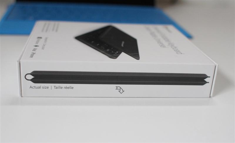微软可折叠蓝牙键盘评测:5mm超薄手感不赖的照片 - 11