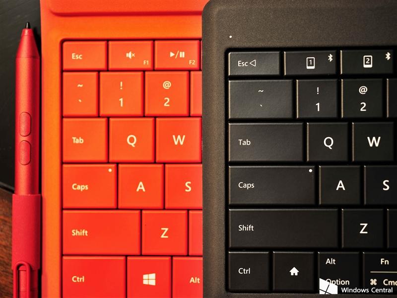 微软可折叠蓝牙键盘评测:5mm超薄手感不赖的照片 - 10