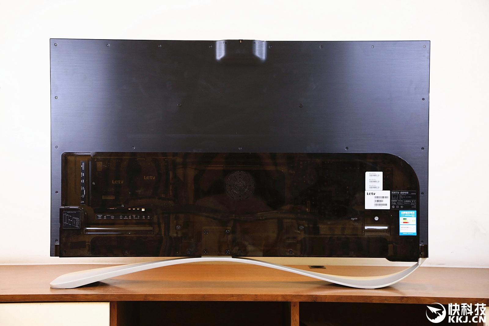 樂視電視底座安裝示意圖