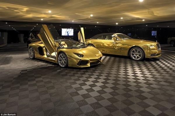 黄金宝马车最贵的_最贵的黄金跑车多少元图片