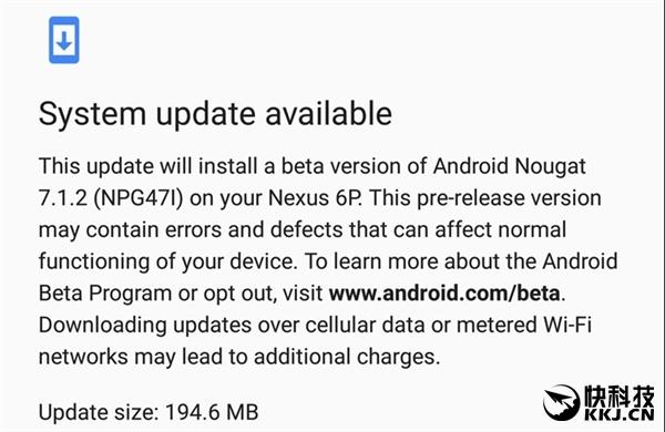 安卓7.1.2 Beta2发布!Nexus 6P终于等到指纹手势