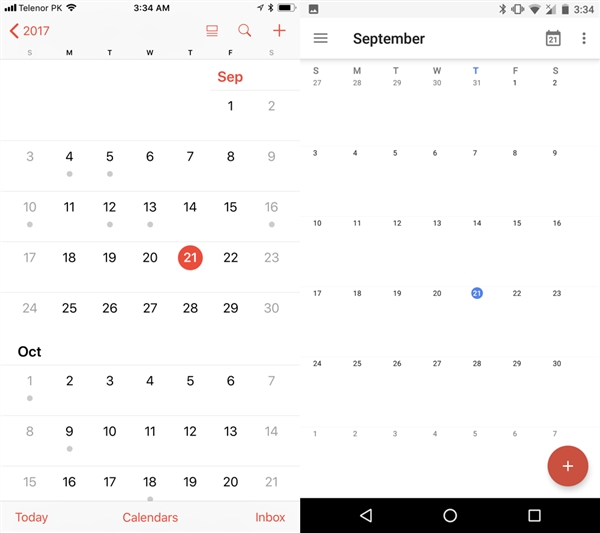 喜欢谁?iOS 11正式版细致对比安卓8.0