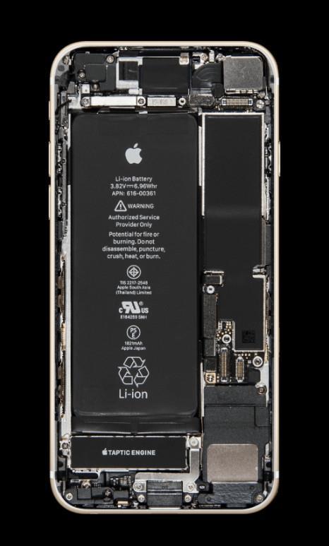 手机电池再利用_罕见!iPhone X首拆:L型电池设计 一大一小-iPhone X,拆解,结构 ...