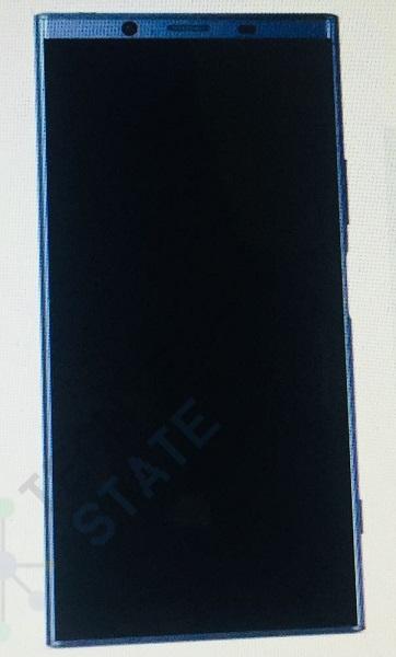 90%屏占比!索尼新旗舰Z2外形曝光:4K屏+骁龙845