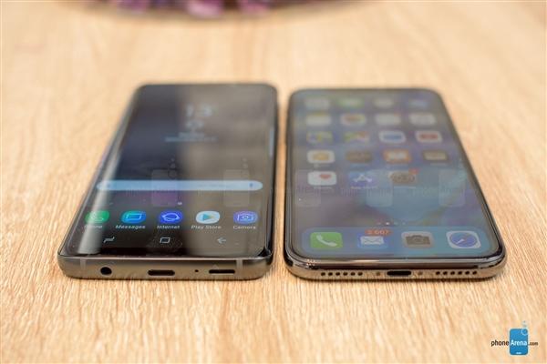 全面屏旗舰大碰撞!三星S9/iPhone X真机对比