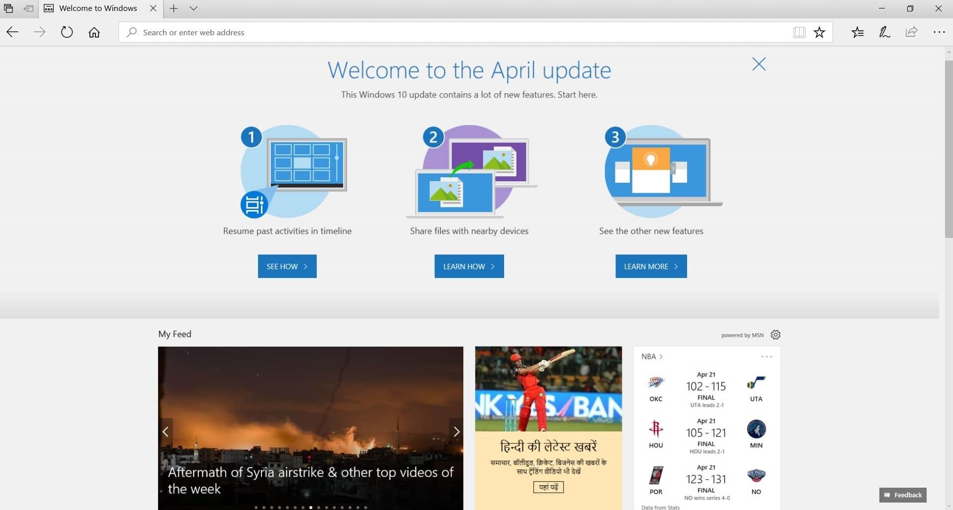 微软官方宣布Windows 10四月更新:Build 17134就它了-微软