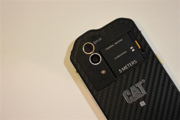 卡特彼勒CAT S61手机上架台湾:支持热成像+空气检测