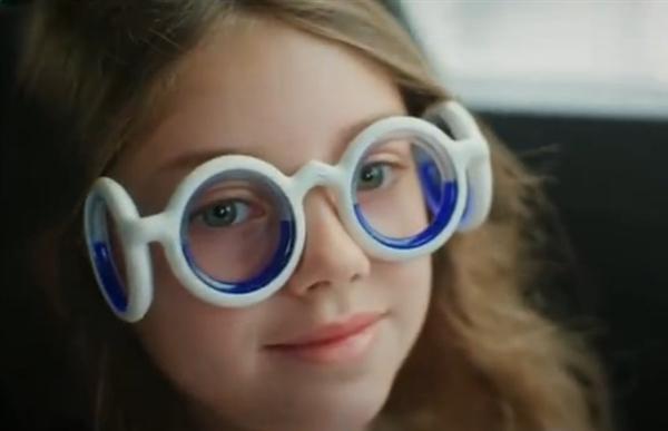 雪特龙发明防晕车眼镜架:成功率高达95%