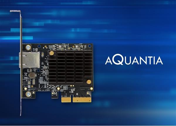 Aquantia发布游戏级万兆网卡:不到千元