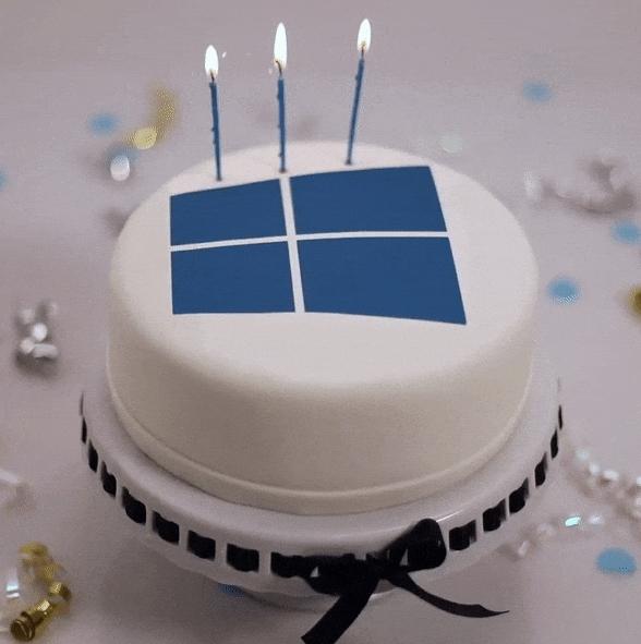 �b�C量超7�| Windows 10迎�砣�周�q生日