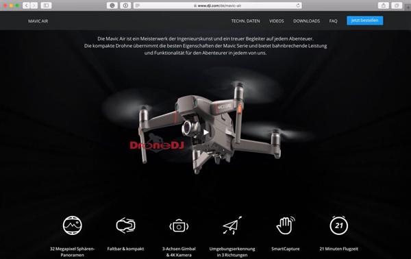 大疆Mavic 2无人机将有两款:Pro搭大底哈苏镜头