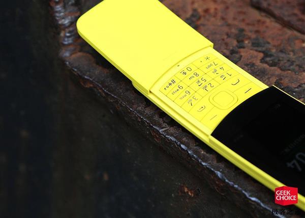 诺基亚8110 4G复刻版图赏:499元重拾经典