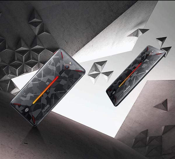 努比亚红魔游戏手机战地迷彩版即将发售:2999元