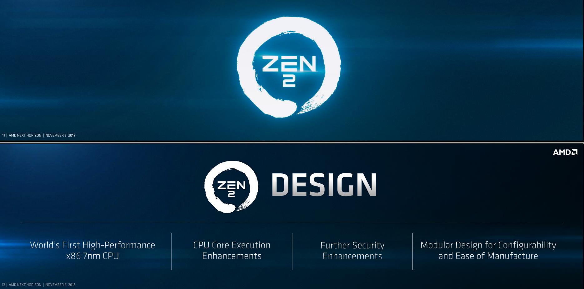 AMD Zen 2架构解析:7nm加持吞吐翻番-AMD,Zen 2,架构,7nm, ——快