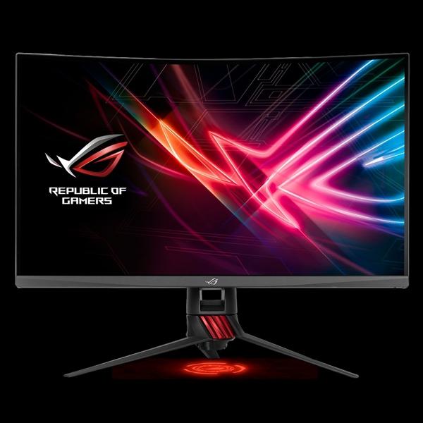 华硕发布ROG XG32VQR曲面显示器:支持FreeSync 2、自带RGB