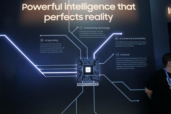 Μέχρι στιγμής η μεγαλύτερη Samsung 98-ιντσών QLED 8K τηλεόραση έκανε το ντεμπούτο της στο CES