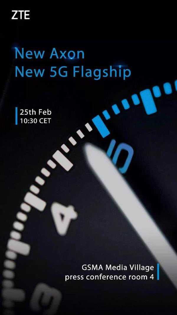 ZTE's 5G flagship Axon is here: the only one in the world!