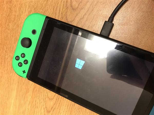 任天堂Switch变刷机神器:黑客成功移植Win10系统