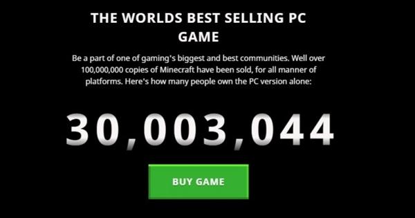 真耐玩 《我的世界》PC版销量超3000万