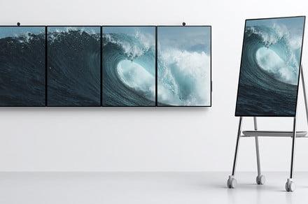 微软Surface Hub 2S发布:50寸和85寸、可移动办公的电子黑板