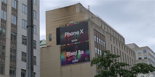 Google Diss Apple iPhone X: The price is $600, but the night shot is not Pixel 3a.