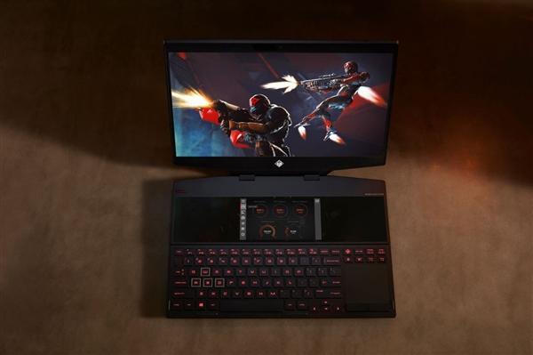 惠普发布双屏游戏本幻影精灵X:6寸副屏玩法多样、最高i9配RTX 2080(图6)