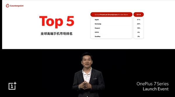 Liu Zuohu : یکی از مزایای بازار جهانی تلفن همراه بالا می رود. Top 5