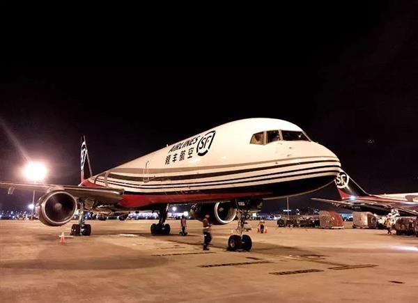 半年增5架 顺丰航空机队规模扩充至55架
