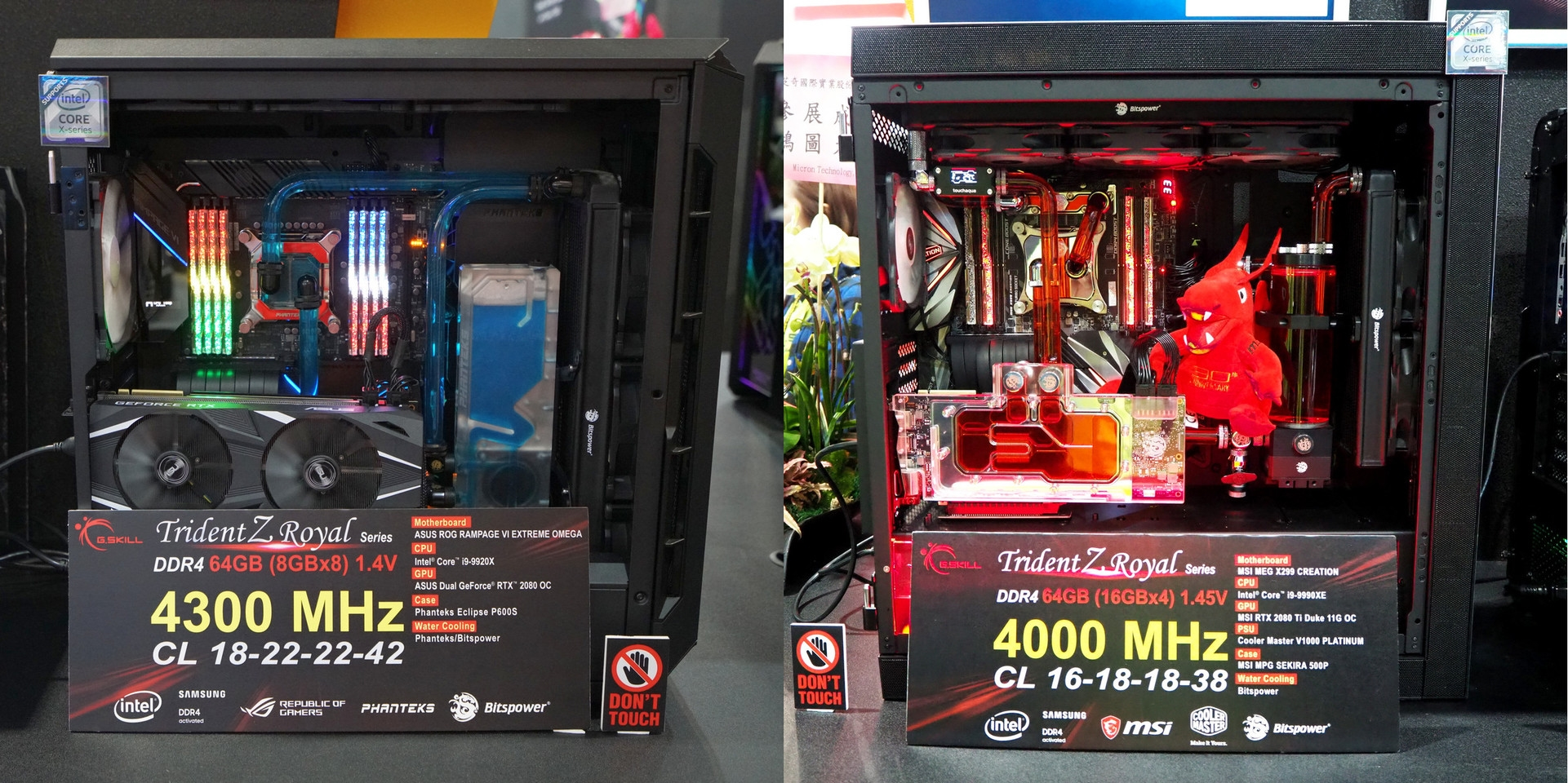 芝奇展示384GB DDR4-4000内存:12条32GB搭配28核心-芝奇,内存