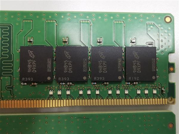 英睿达单条32GB DDR4内存亮相:三星之后第二款