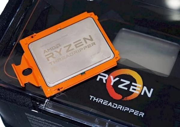 AMD 7nm锐龙要上64核:第三代ThreadRipper年底前推出