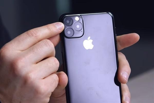 最接近真机的模型曝光 iPhone 11 Max就长这样
