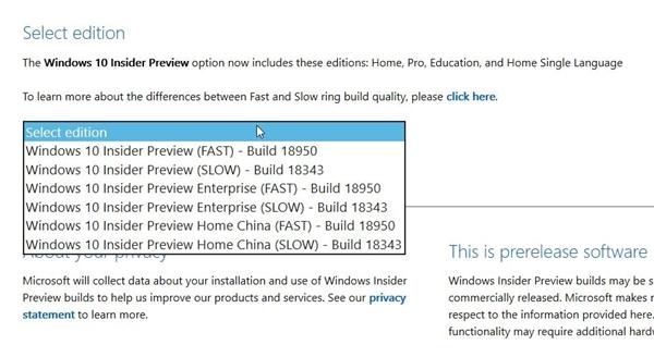 Windows 10 18950預覽版ISO鏡像下載發布