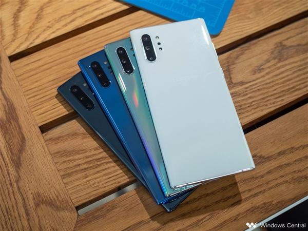 三星Galaxy Note 10国行版现身安兔兔:骁龙855非Exynos 9825