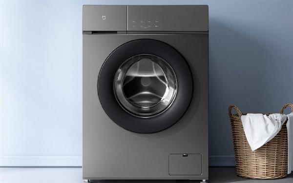 米家变频滚筒洗衣机1S 8kg上架:性价出色