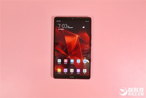 麒麟980+6100mAh 华为平板M6高能版图赏