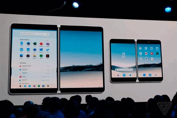 这就是微软折叠屏手机Surface Duo!采纳谷歌深度定制安卓系统