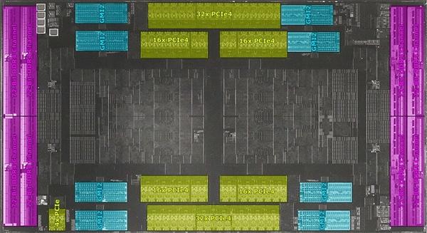 395.4亿晶体管!红外线下的AMD 64核心霄龙