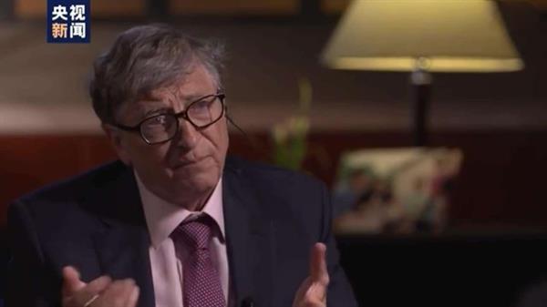 蓋茨答白巖松提問:賺錢難 花錢更難 做慈善難上加難