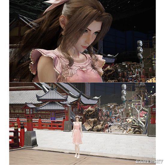 最终幻想13主角_《最终幻想7:重制版》海量截图曝光 爱丽丝身穿粉裙很迷人 ...