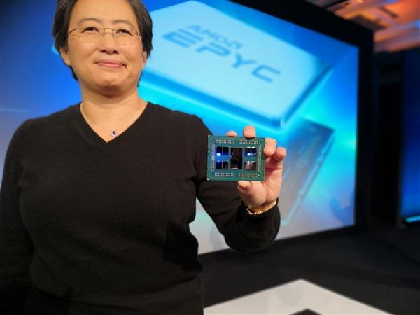 5nm Zen4在手 AMD CEO苏姿丰:每年保持20%增长