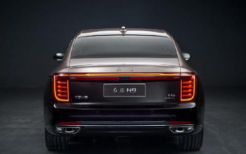 空气悬架+V6引擎!红旗H9已到店:预售或35万起
