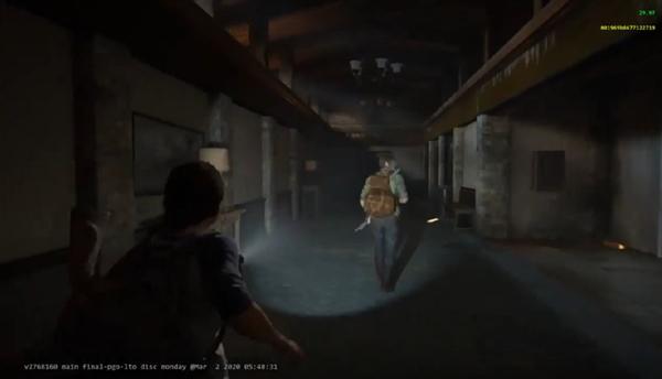 PS5护航大作《最后生还者2》片段泄露:次世代主机只能跑30帧?